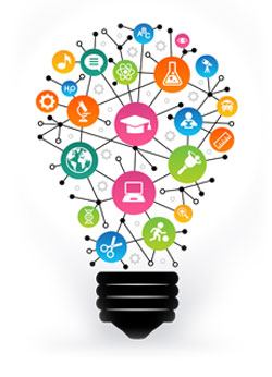 Lightbulb kreativt lärande